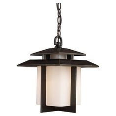 MINA OUTDOOR HANGING LANTERN for $180.60 Cast a warm glow on your patio or front porch with this lovely outdoor hanging lantern, showcasing an Asian-inspired silhouette and a square glass shade.  ...