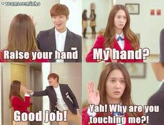 Minho, Krystal Jung ♡ Kdrama // The HEIRS -- I loved her in this!