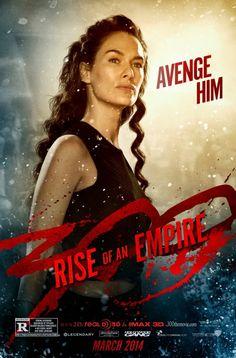 """""""300: El Origen de un Imperio"""" será uno de los estrenos del 2014 tras 8 años de la llegada de su predecesora. Hoy llega un nuevo póster donde vemos a su protagonista femenina."""