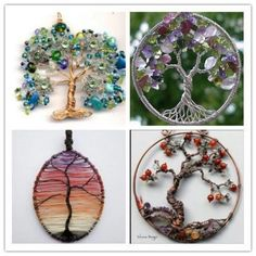 Awesome wire wrapped trees