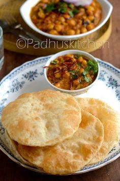 Chole Bhature Recipe-Punjabi Chole Bhature-Channa Bhatura Recipe