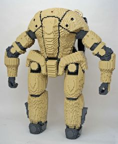 Capcom's Lost Planet Launch Event — Nathan Sawaya — The Art of the Brick