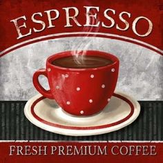 Espresso Canvas Art - Conrad Knutsen (24 x 24)