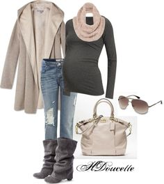 """""""Winter Maternity"""" by hagreen17 on Polyvore"""