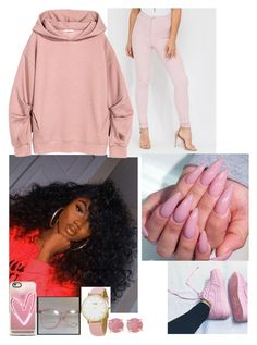 """""""Deja Vu Collection"""" by trill-boss ❤ liked on Polyvore featuring Casetify, CLUSE and Melissa Joy Manning"""