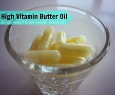 Do You Need High Vitamin Butter Oil to get Enough Vitamin K2? - Holistic Squid