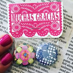 Customizable Magnet Party Favors with customizable by bakagirl