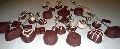 Mummin vuodenajat: FIMO-avaimenperät - FIMO keychains