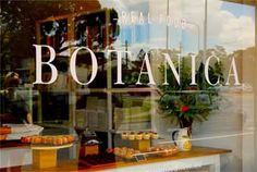 Botanica Real Food - Red Hill. About Us and About the Food.