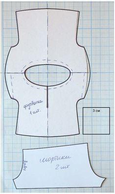 Спальный комплект - футболка и шортики - http://bjdclub.ru/viewtopic.php?p=1101956#p1101956