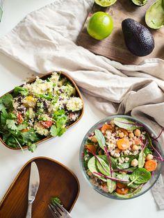 Tweaked easy salads (in finnish)