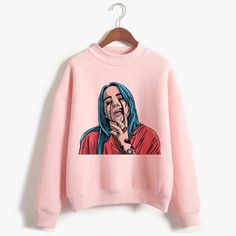 Billie Eilish, Best Gifts For Men, Gifts For Wife, Great Birthday Gifts, Birthday Ideas, Sweat Noir, Godparent Gifts, Hoodies, Sweatshirts