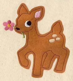 Oh Deer (Applique)_image