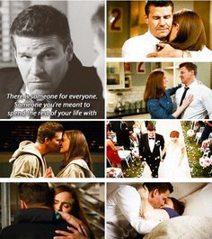Booth loves Brennan plain and simple.