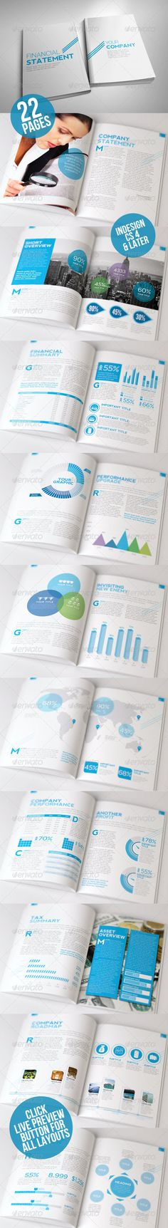 Kasongan Company Annual Report  —  InDesign Template • Only available here! →…