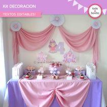 Princesa: decoración de fiesta