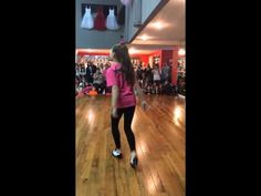 Maddie Ziegler tapping - YouTube