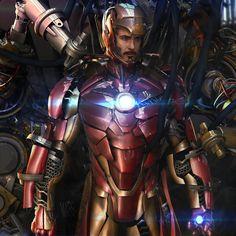 Iron Man by Mars M. | Fan Art | 3D | CGSociety