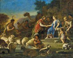 Ιακώβ και Ραχήλ στο πηγάδι 1690
