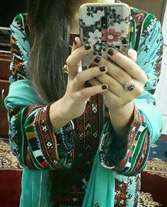 Balochi Girls, Girls Dpz, Hidden Face Dpz, Balochi Dress, New Designer Dresses, Pakistani Girl, Beautiful Girl Image, Dress Images, Makeup Organization
