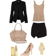 Black and beige!