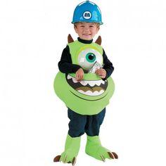 Tu seras le petit monstre à un œil avec ce Costume de Mike Monstres et Cie pour enfant