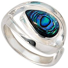 "Dreambase Damen-Ring ""Abalone"" Breite ca. 14,8 mm Silber ... https://www.amazon.de/dp/B00AEDWI0I/?m=A37R2BYHN7XPNV"