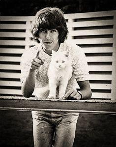 George Harrison - angielski muzyk i kompozytor muzyki rockowej. http://www.kotysos.org/daj-procenta-na-kocieta/