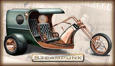 Custom VW Trikes | The Steampunk Trike has all the victorian charm with