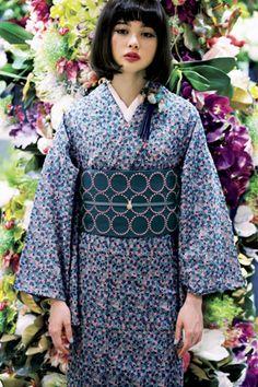 mina perhonen kimono for summer.