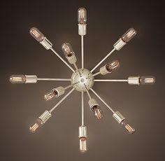 Sputnik Filament Sconce