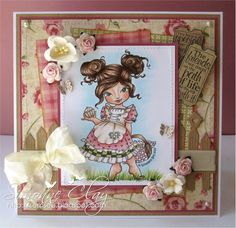 "Whimsy Stamps Elisabeth Bell ""Cinnamon Sugar"" by Simonne Clay"