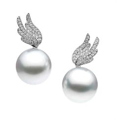 Pearls with wings! #pearlofwisdom #bridaljewellery