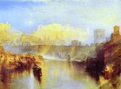 Ancient Rome Agrippina Landing with the Ashes of Germanicus, 1839 William Turner