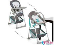 Sit and Relax HAUCK 2w1 krzesełko leżaczek 0-15kg - Mulan