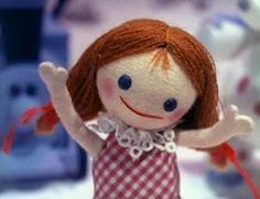 Doll from Island of Misfit Toys. Remind myself it's not all bad to be a misfit.