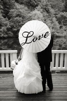Love Parasol #wedding_parasol, #parasol, #love, #wedding