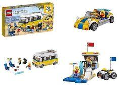 Lego Creator 3 In 1 Sunshine Surfer Van 379 Pieces Building Kit Kids Toy Gift Lego Creator, The Creator, Sunshine, Van, Building, Gift, Buildings, Nikko, Vans