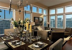 pent house dining