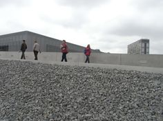 Another view of the Topography of Terror exhibition