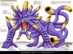 Exploud by Pokemon-FR Pokemon Super, Cool Pokemon, Pokemon Manga, Pokemon Fan Art, Fantasy Creatures, Mythical Creatures, Monster Hunter 3rd, Deviantart Pokemon, Devian Art