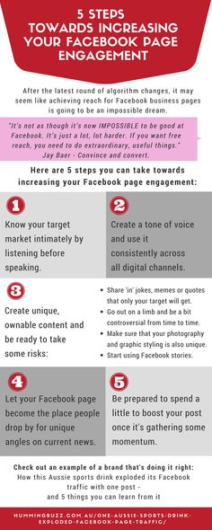 5 steps towards improving your Facebook reach and engagement. Facebook Marketing Strategy, Internet Marketing, Social Media Marketing, Digital Marketing, Facebook Content, For Facebook, Social Media Services, Social Media Site, Business Pages