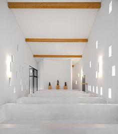 'Capela de Santa Ana' by e|348 Arquitectura | Yatzer
