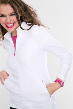 Rebel Zip Jacket. #nurse #nursing #scrubs #SmittenScrubs #Fashion #Scrub #Smitten #Scrubs #NursesRock #RockStar