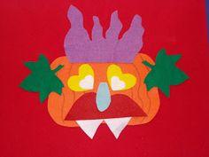 Neverlandarling: Flannel Friday: Go Away Big Orange Monster