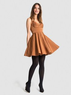 The AUDRE Sweetheart Dress in Satin - Multiple Colors