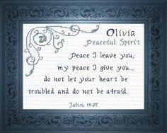 Name Blessings -  Olivia 3