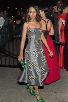 Kerry Washington at the after-party