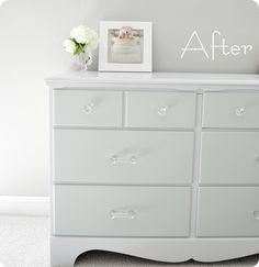 BEST tutorial I've seen yet on restoring that cheap thirfted furniture! She lists steps that many of the others don't!