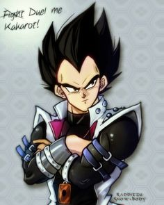 And my head just exploded!  Dragon BallZ Yugioh cross over.